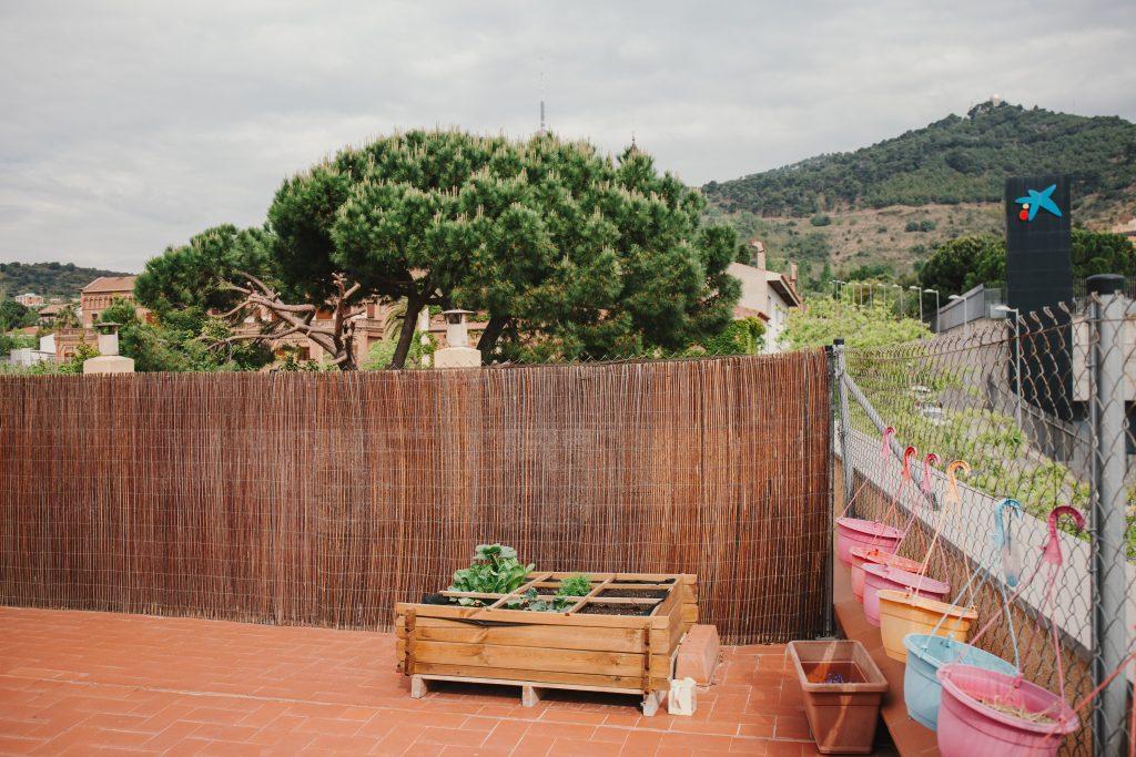 Green Project en Montessori Village, huerto