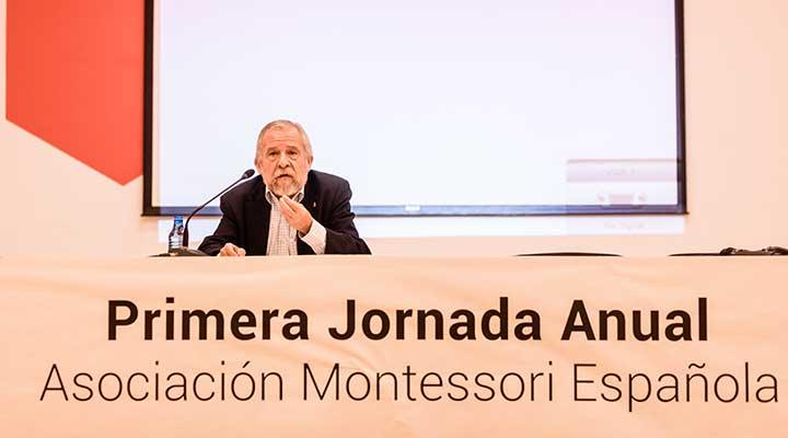 Asociación Montessori española, Francisco Mora
