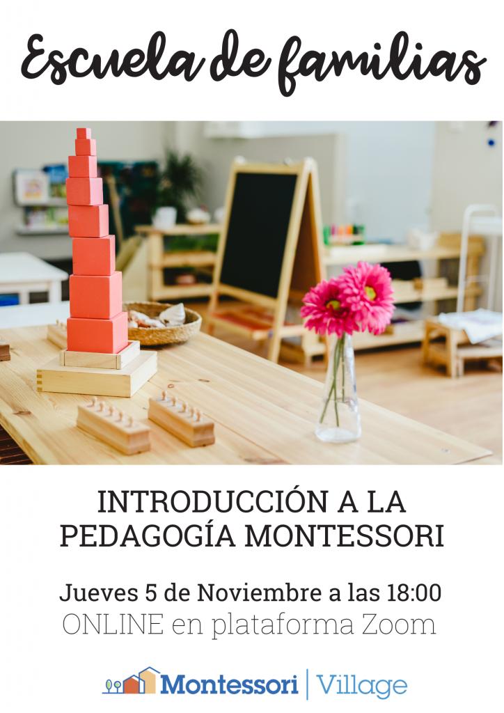Escuela de familias en Montessori Village
