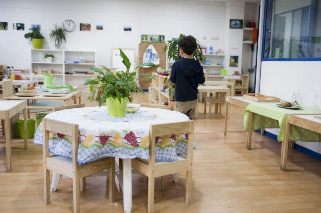 Materiales del método Montessori