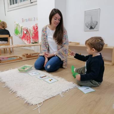 Montessori en tu casa con Ainhoa Ramírez